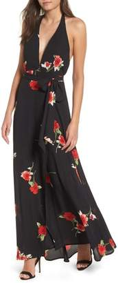 Leith Halter Maxi Dress