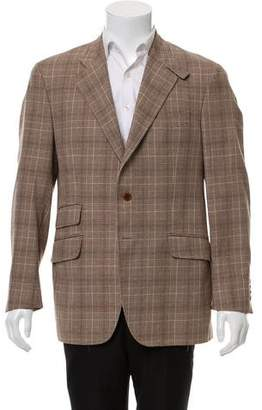 Etro Woven Two-Button Blazer