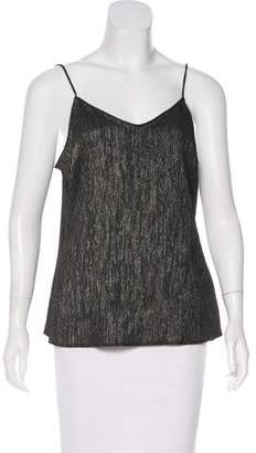 Paige Metallic Sleeveless Top w/ Tags