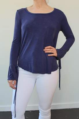 Anama Knit Top Navy