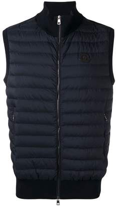 Moncler quilted body-warmer jacket