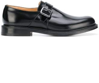 Church's monk buckle strap loafers