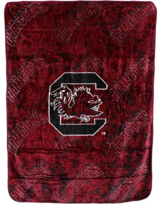 "NCAA College Covers South Carolina Gamecocks Raschel Throw Blanket 63"" x 86"""