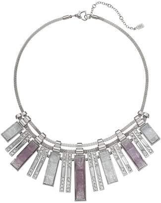 JLO by Jennifer Lopez Graduated Geometric Bar Statement Necklace