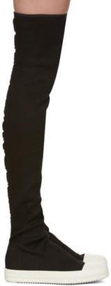 Rick Owens Black Stocking Boots