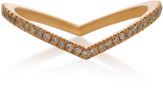 Eva Fehren Private 18K Rose Gold and Diamond RIng