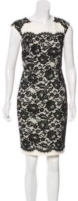 LK Bennett Lace Knee-Length Dress
