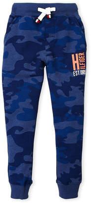Tommy Hilfiger Boys 4-7) Blue Camo Joggers