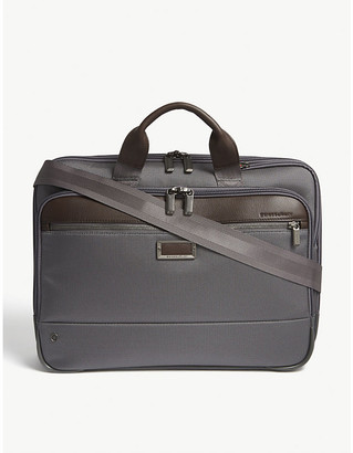 Briggs & Riley Black @Work Slim Nylon Briefcase