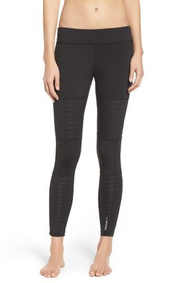 Women's Reebok Dance Mesh Leggings $50 thestylecure.com