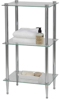 "Creative Bath 16"" W x 30"" H Bathroom Shelf"