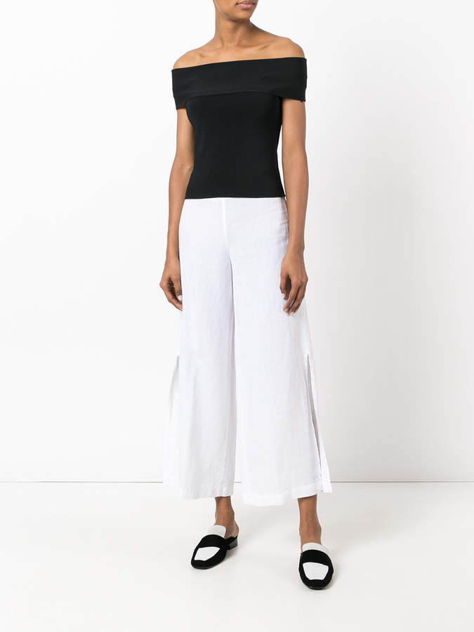 Stefano Mortari side slit trousers