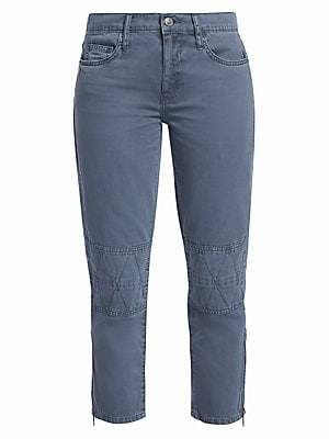 Current/Elliott Women's Debbie Crop Utility Jeans