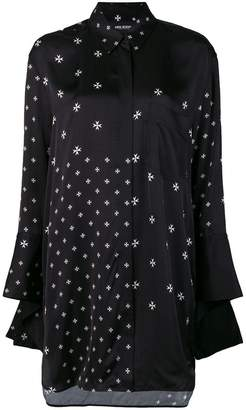 Neil Barrett Military Star print shirt