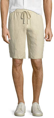 Vince Hemp Raw-Hem Track Shorts
