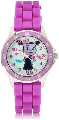 Disney Holiday 2018 Unisex Purple Strap Watch-Vmp9001jc