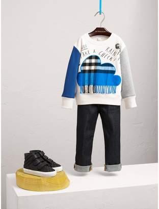 Burberry Weather Motif Cotton Sweatshirt