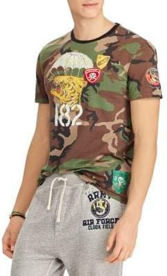 Polo Ralph Lauren Camo Cotton T-Shirt