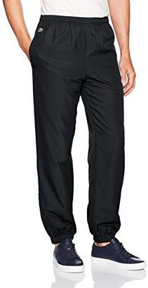 Lacoste Men's Sport Taffetta Pant with Side Zip Detail