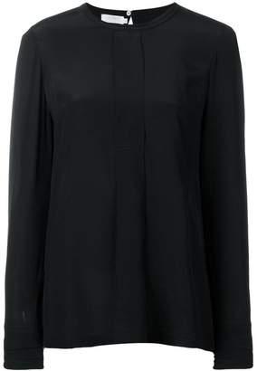 Barba round neck blouse