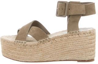 CelineCéline Espadrille Flatform Sandals