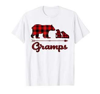 Buffalo David Bitton Red Plaid Gramps Bear Matching Pajama T-Shirt