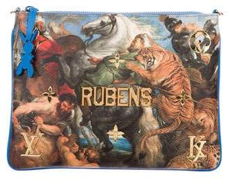 Louis Vuitton 2017 Masters Collection Clutch Rubens