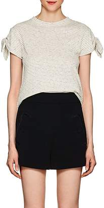 Derek Lam 10 Crosby Women's Striped Cotton Jersey T-Shirt