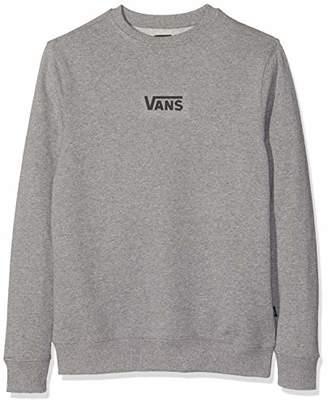 6eff4fb6 at Amazon.co.uk · Vans Men's French Terry Classic Crew Sweatshirt, (Black  Blk), (Size: