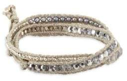 Chan Luu Beaded Cord Bracelet