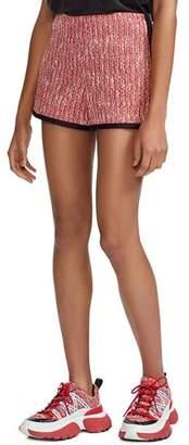 Maje Iveri Tweed Shorts