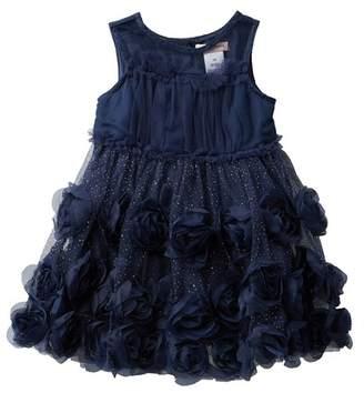 Nanette Lepore Soft Tulle & Glitter Dress (Baby Girls)