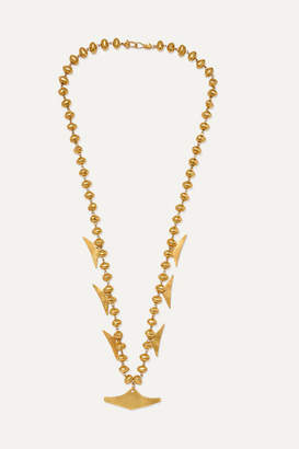 Paula Mendoza Cano X CANO x Canoa Gold-plated Necklace - one size