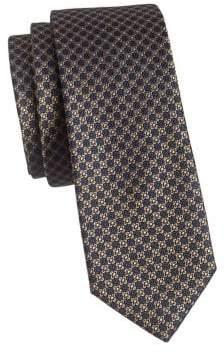 The Tie Bar Floral Silk Slim Tie