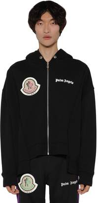 Palm Angels Moncler Genius ZIP-UP SWEATSHIRT HOODIE
