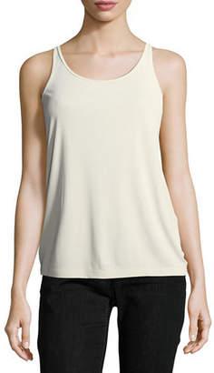 Eileen Fisher Petite Silk Jersey Long Slim Camisole