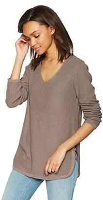 Olive + Oak Olive & Oak Women's Kimmie Side Lace Up Sweater