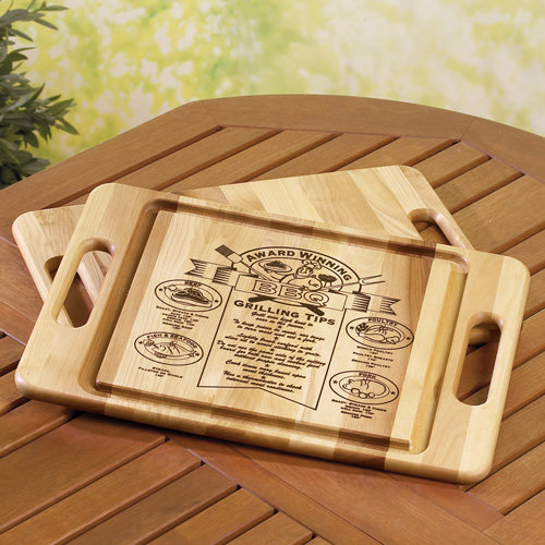 Reversible Trench BBQ Carving Board