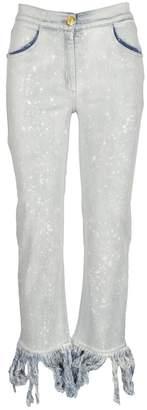 Balmain Jeans Fringe