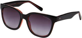Tommy Hilfiger Black Clara Wayfarer Sunglasses
