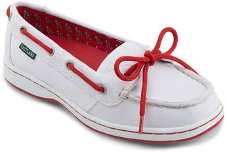 Eastland Women's St. Louis Cardinals Sunset Boat Shoes