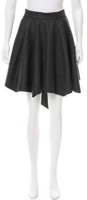 Dagmar Asymmetrical Wool Skirt