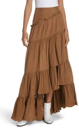 3.1 Phillip Lim Tiered Ruffle Maxi Skirt