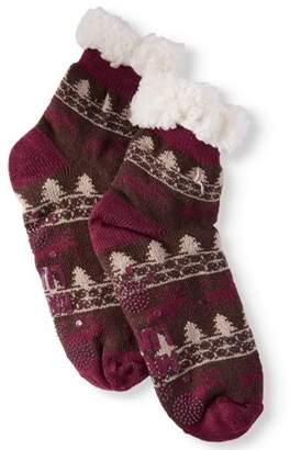Muk Luks Women's 1-Pair Fluffy Cabin Socks