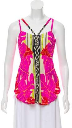 Yoana Baraschi Silk Printed Top