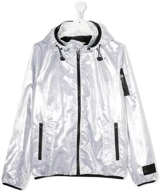 Diadora Junior TEEN metallic bomber jacket
