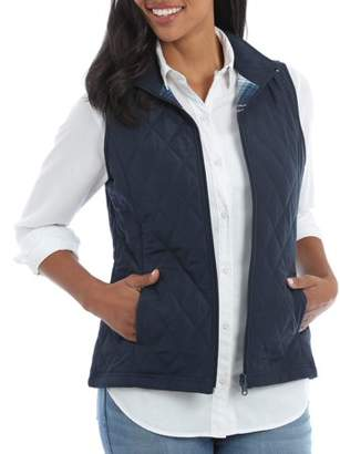 Lee Riders Women's Quilted Reversible Vest