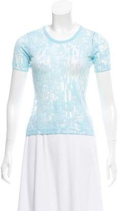 Timo Weiland Knit Short Sleeve Top