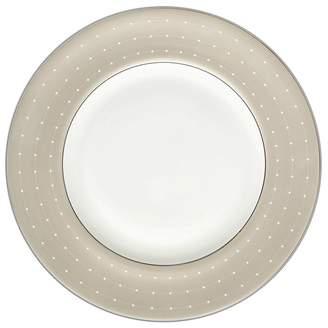 Monique Lhuillier Waterford ETOILE PLAT. ACCENT PLATE TAN
