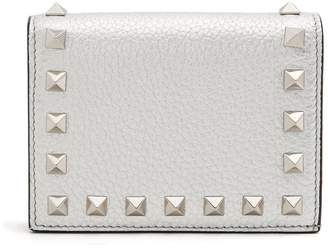 Valentino Rockstud bi-fold leather wallet